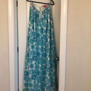 Lilly Pulitzer for Target Blue Maxi Dress